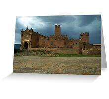 San Javier Castle Greeting Card