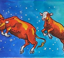Moon Cows! by Beverly Caputo