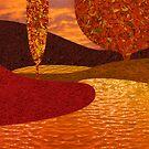 Fall on the Lake by hazyoasis