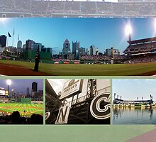 Pittsburgh, PA: PNC Park Collage by ACImaging