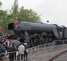 Flying Scotsman (train) A3 4472 by Keith Larby