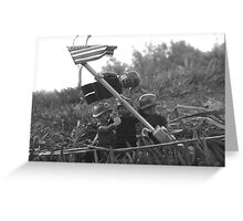 The Smaller Flag of Iwo Jima Greeting Card