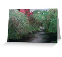 ALONG THE CONCORD RIVER Greeting Card