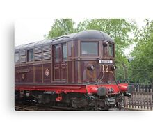 Metropolitan Railway Electric Locomotive No.12 'Sarah Siddons' Canvas Print