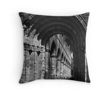 gothic arch Throw Pillow