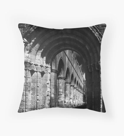 gothic arch Throw Pillow