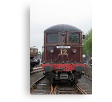 Sarah Siddons at Railfest 2012, National Railway Museum, York Canvas Print
