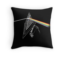 Dark Side of the Hill Throw Pillow