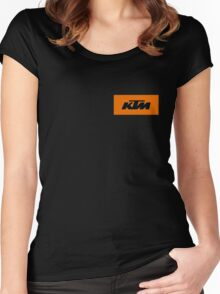 KTM Women's Fitted Scoop T-Shirt