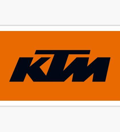 KTM Sticker