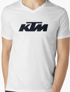 KTM Mens V-Neck T-Shirt