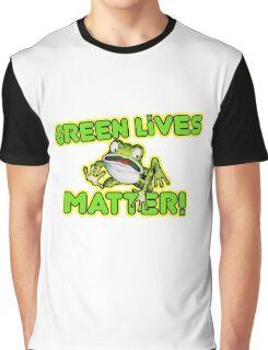 Green Lives Matter Graphic T-Shirt