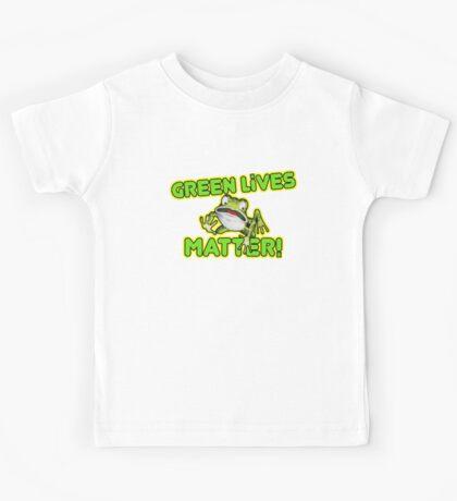 Green Lives Matter Kids Tee