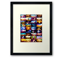 Doctor who scenery  Framed Print