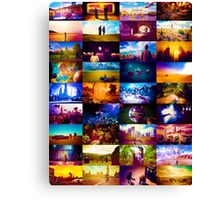 Doctor who scenery  Canvas Print