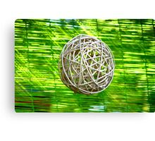 A different sphere Canvas Print