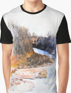 Flying Home Graphic T-Shirt