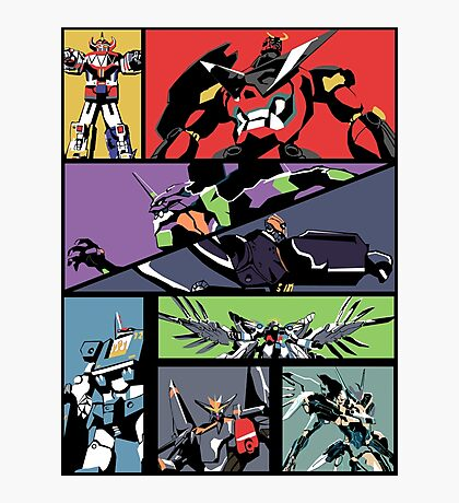 Super Robots Photographic Print