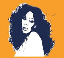 DONNA SUMMER-(LARGE BLUE) by OTIS PORRITT