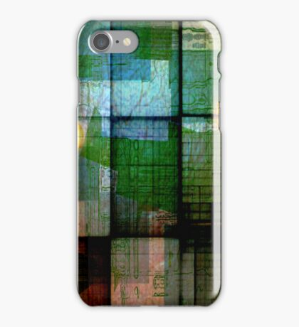A Circle Amongst Squares iPhone Case/Skin