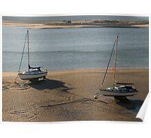 Barmouth Estuary in morning light Poster