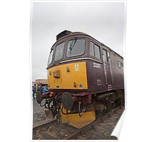 33207 at Railfest 2012 in York Poster