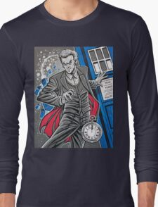 "The Twelfth Doctor (""All Thirteen!"") Long Sleeve T-Shirt"