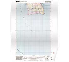 USGS Topo Map Washington State WA Point Roberts 243175 1997 24000 Poster