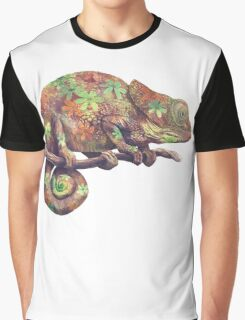 Hippy Chameleon  Graphic T-Shirt