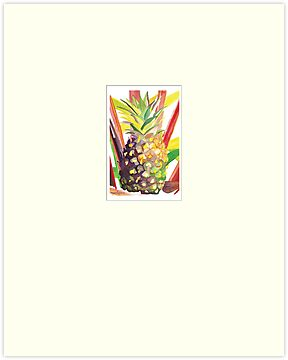 &quot;Tropical Popsicle Pineapple&quot;  2011 Meagan Healy by Meagan Healy