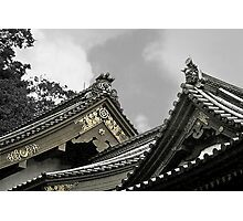 Old Japanese Rooftops Photographic Print