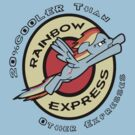 Rainbow Express by atlasspecter