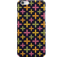 Colorful Modern Blossom Pattern iPhone Case/Skin