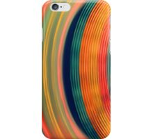 Colorful abstract streaks of lights2 iPhone Case/Skin