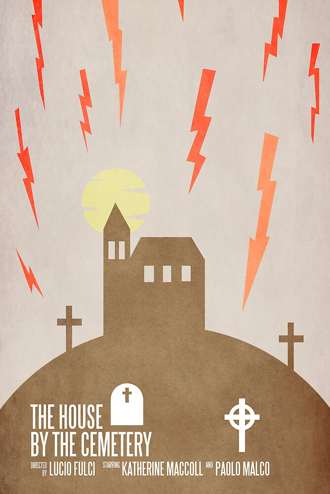 The House by the Cemetery by Robert Knight