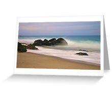Good Morning Malibu Greeting Card