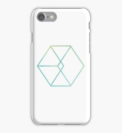 EXO // WATERCOLOR LOGO MINIMALIST iPhone Case/Skin