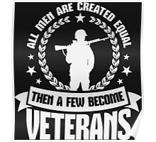 Then A Few Become Veterans Poster