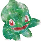 Bulbasaur Leaves Design by Morware