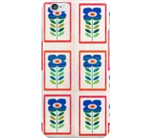 Floral geometric. iPhone Case/Skin