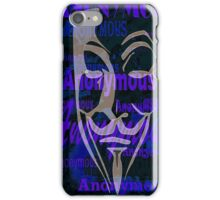 Anonymous iPhone Case/Skin