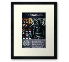 The Suit of Ages Framed Print