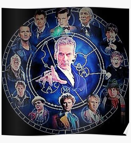 Doctor who (all 13 doctors) Poster