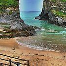 Newquay Beach by bertie01