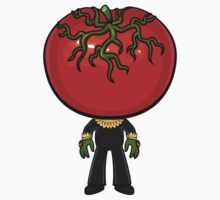 Invasion of the Saucer-Tomato by Allison Bair