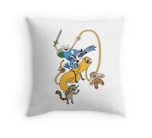 Adventure Show Throw Pillow