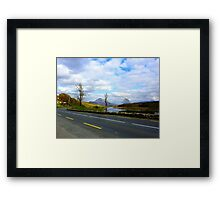 Leaving Mount Errigal Framed Print