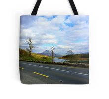 Leaving Mount Errigal Tote Bag