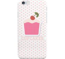 Cupcakes & Polka Dots iPhone Case/Skin