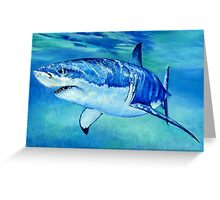 Great White Shark Greeting Card